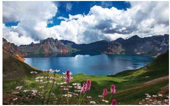 长白山北坡+西坡、镜泊湖、吊水楼瀑布衲殷古城、朝鲜民俗村济南直飞5日游