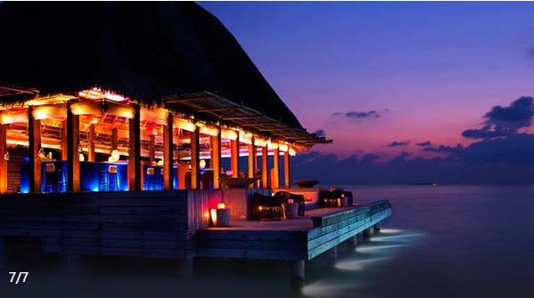 马尔代夫宁静岛7日5晚半自助游