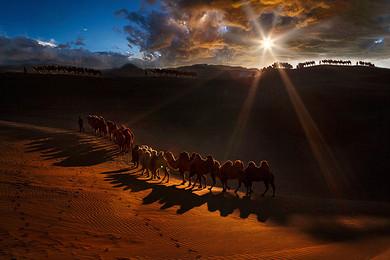 【跟团游】赠1200元骑马+沙漠套票索道