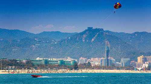 深圳+地王观光+中英街+金色海岸游艇+世界之窗一日游【纯玩多套餐、持证导游、透明消费看得见的好】