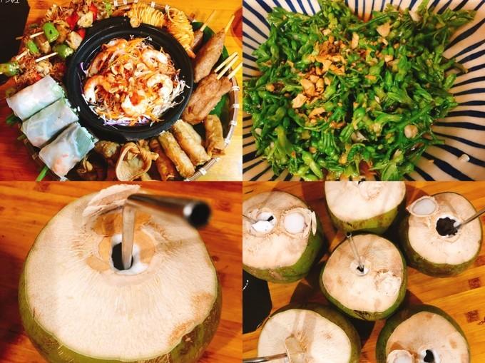 吃货在越南的网红美食与景点打卡深度游路线攻略之范五老街椰子汁