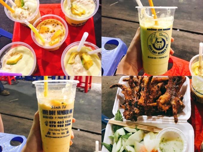 吃货在越南的网红美食与景点打卡深度游路线攻略之水果奶昔店,榴莲牛油果奶昔