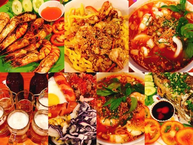 吃货在越南的网红美食与景点打卡深度游路线攻略之海鲜烧烤啤酒美食