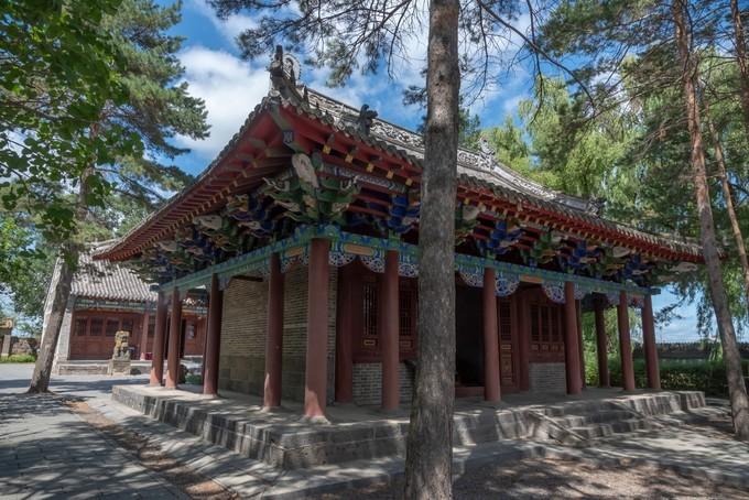 东北黑龙江宁古塔的个性文艺自由行攻略之宁古塔的石灯幢