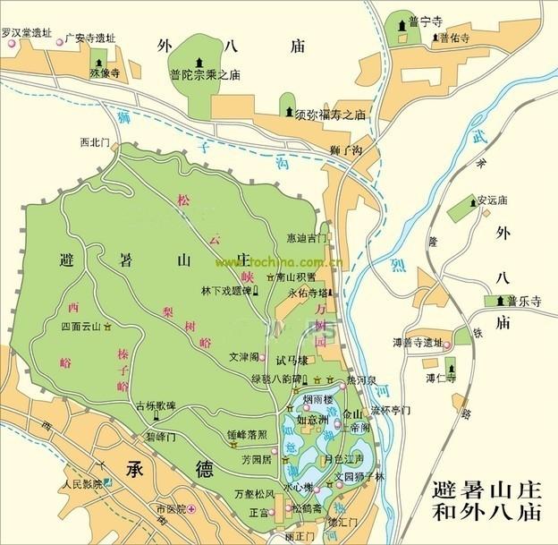 河北承德避暑山庄文艺自由行旅游攻略之承德离宫或热河行宫