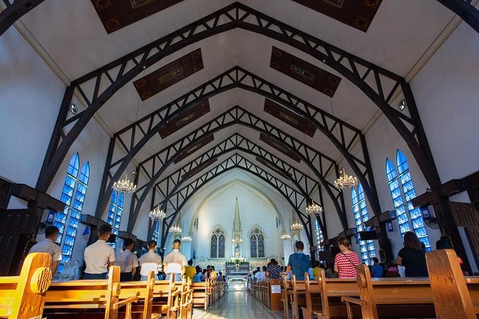 菲律宾超实用热带岛屿旅游美食行程攻略之蓝教堂