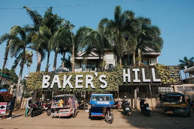 菲律宾超实用热带岛屿旅游美食行程攻略之巴拉望 Baker's Hill 烘培糕点