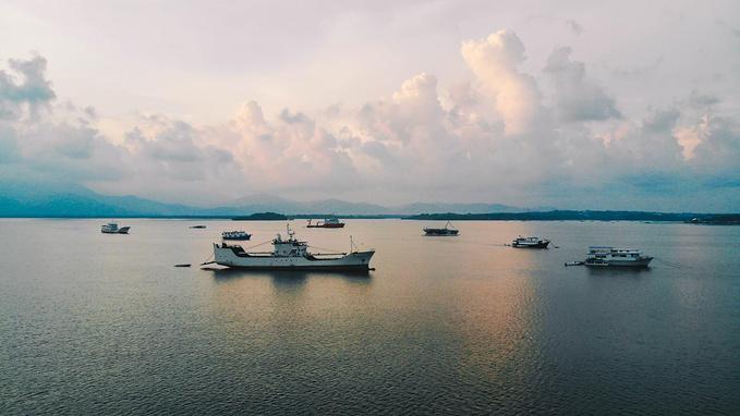 菲律宾超实用热带岛屿旅游美食行程攻略之baywalk 罗哈斯大街的日落大道