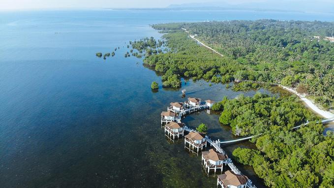 菲律宾超实用热带岛屿旅游美食行程攻略之Princesa Garden Island Resort and Spa