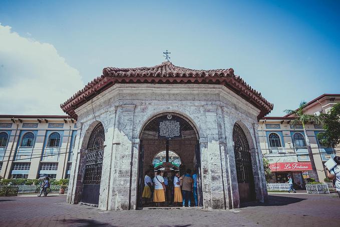 菲律宾超实用热带岛屿旅游美食行程攻略之Magellan's Cross 麦哲伦十字架