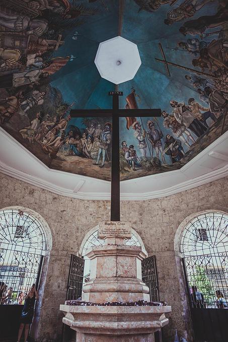 菲律宾超实用热带岛屿旅游美食行程攻略之麦哲伦十字架