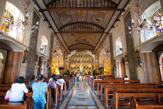 菲律宾超实用热带岛屿旅游美食行程攻略之最古老的教堂圣婴教堂