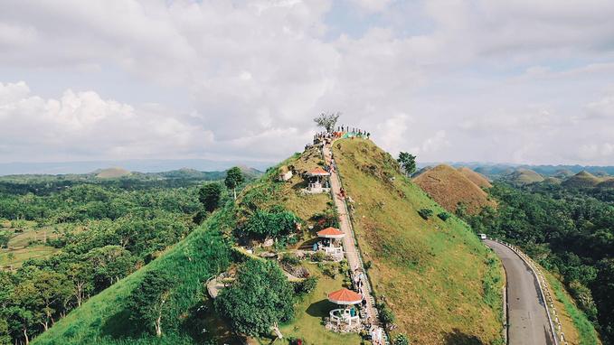 菲律宾超实用热带岛屿旅游美食行程攻略之巧克力山
