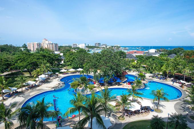 菲律宾超实用热带岛屿旅游美食行程攻略之带游泳池的度假酒店