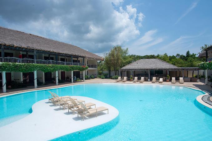 菲律宾超实用热带岛屿旅游美食行程攻略之带游泳池的酒店 Luewater Panglao Beach Resort