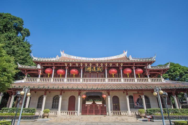 福建泉州古城实用景点美食打卡行程攻略之古谯楼威远楼