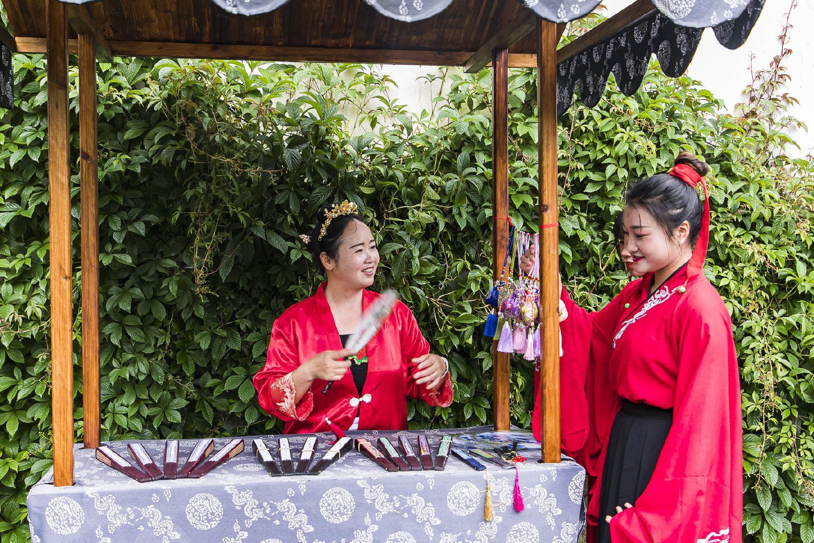 【江西】婺源有一座穿汉服才能进的园林 游客打招呼以古语相称