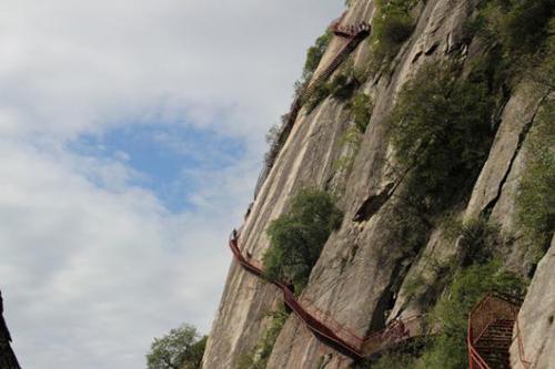 【陕西】一个适合周末游玩的景点——红河谷